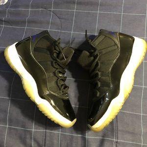 "Nike Air Jordan Retro 11 ""Space Jam"" size 9.5 used"